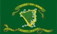 Sons of Erin 3 X 5 foot Polynylon Flag